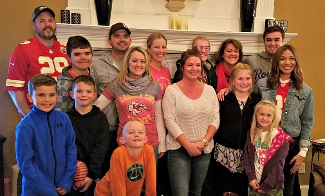 Pictured is the family of David Smith, a ZOLL LifeVest patient