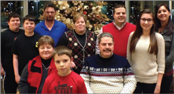 The family of ZOLL LifeVest patient Leo Matheny